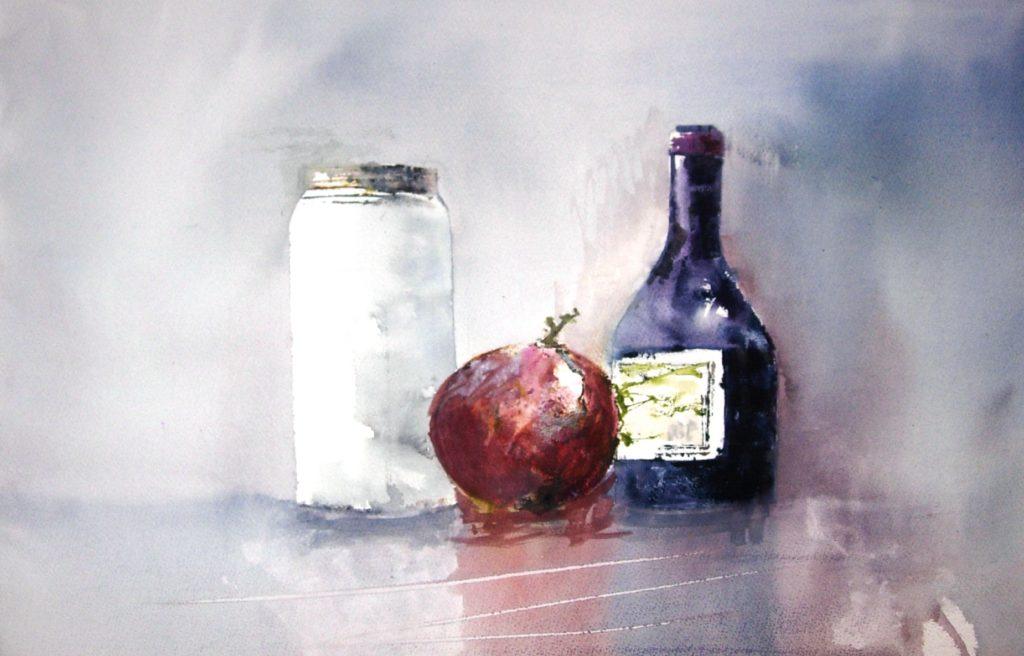 Aceto Balsamico di Modena con vaso 4 stagioni e mela