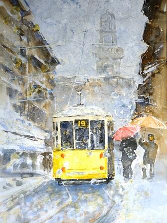 Un tram Giallo