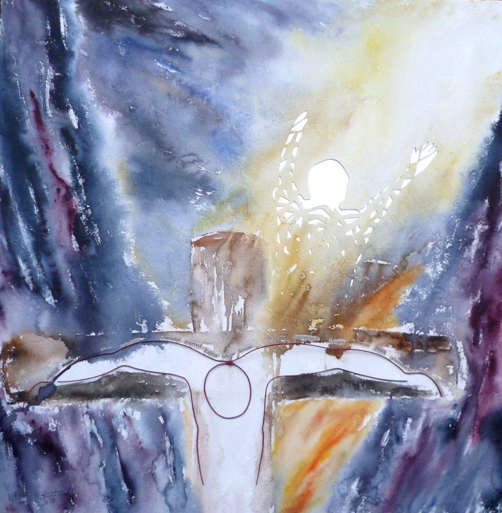 sulla croce al posto mio